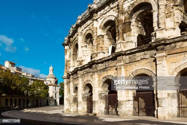 Roman arena, Nîmes, Gard,France