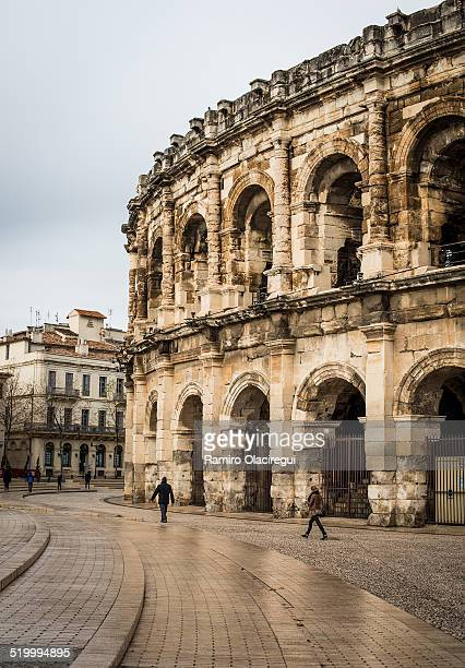 roman arena - amphitheatre stock photos and pictures