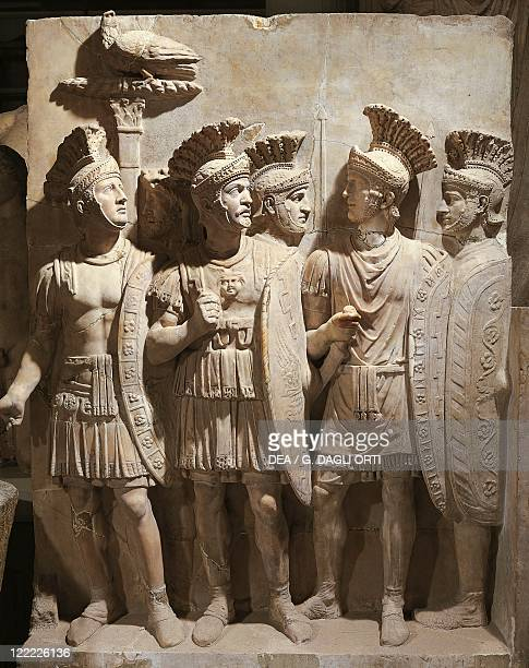 Roman Art 2nd century AD Relief with Praetorian Officers