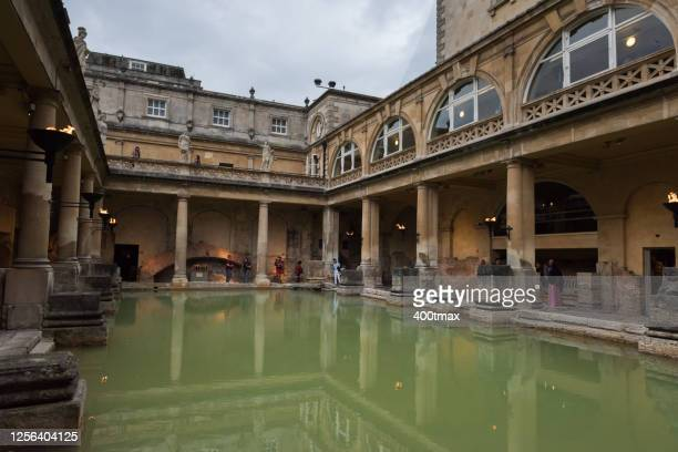 roman bath - religious equipment stock pictures, royalty-free photos & images