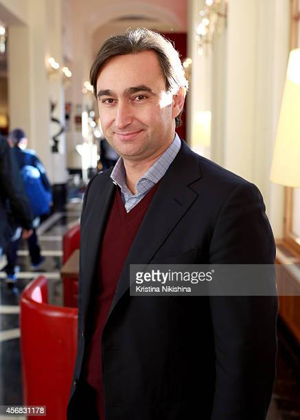 Roman Borisevich attends the Concerned Russian premiere of Boris Khlebnikov's TNT Series during the Saint Petersburg International Media Forum at the...