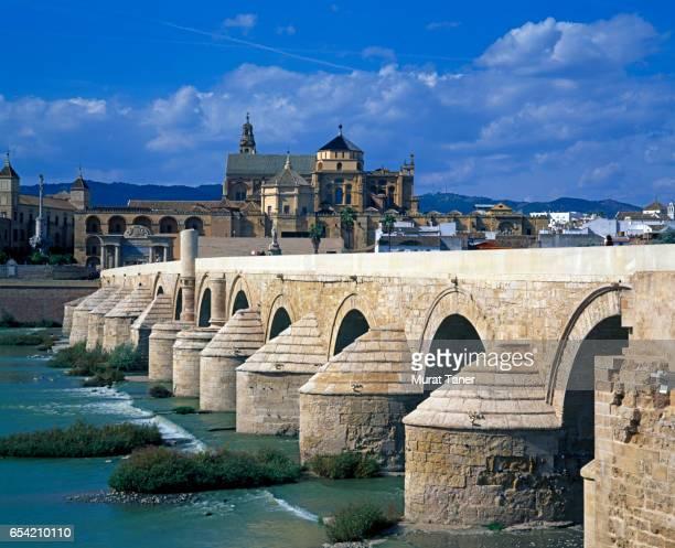 Roman Bridge and panorama of Cordoba