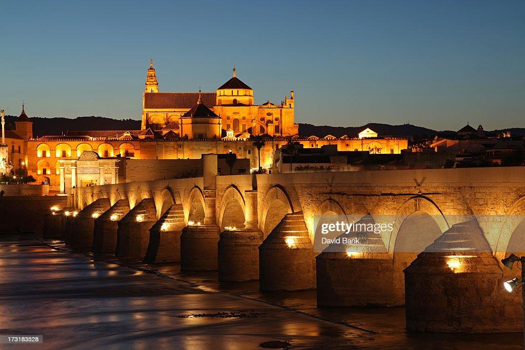 Roman Bridge Córdoba : Stock-Foto