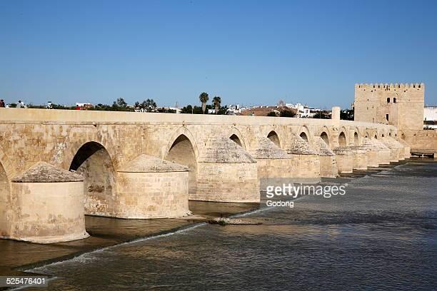 Roman bridge in Cordoba Andalusia