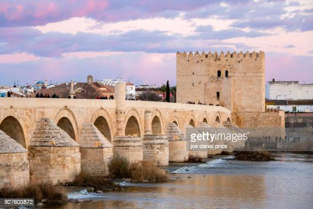 Roman Bridge of Córdoba, Puente Romano, Cordoba, Andalucia, Spain