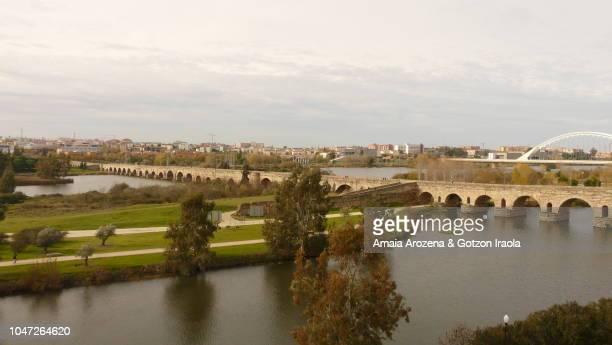 Roman Bridge of Merida. Extremadura, Spain.