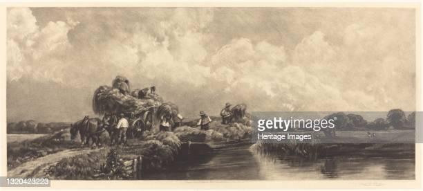 Roman Canal, 1904. Artist Frank Short.