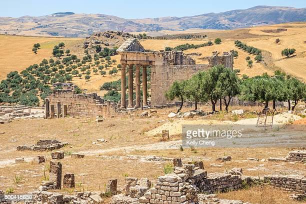 Roman capitol at Dougga