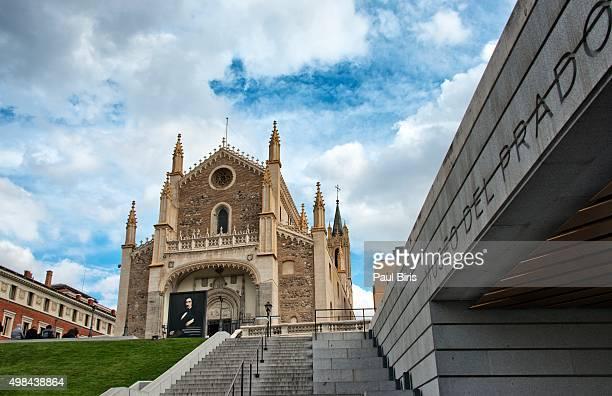 Roman Catholic church San Jeronimo el Real near El Prado Museum, Madrid
