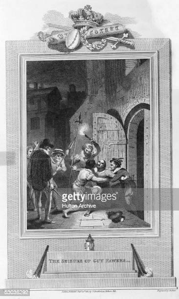 Roman Catholic conspirator Guy Fawkes is arrested in a cellar underneath Parliament, where he was attempting to detonate 2500 kg of gunpowder, 5th...