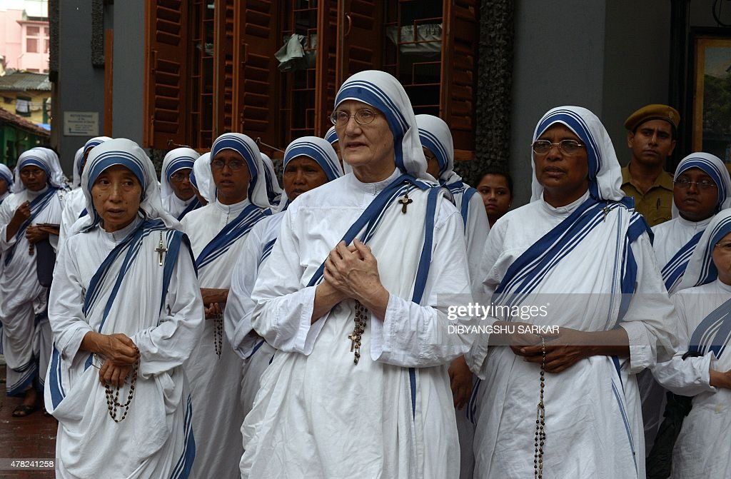 Roman Catholic nuns of the Missionaries of Charity with
