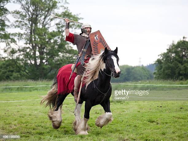Cavalleria soldato romano con Short Spear
