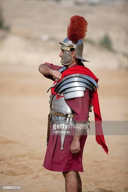 Centurione Saluto militare-Jerash, Giordania