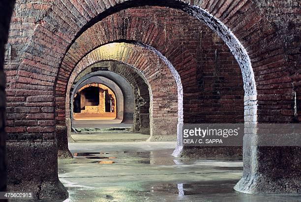 Roman cisterns Fermo Marche Italy Roman civilisation 1st century AD