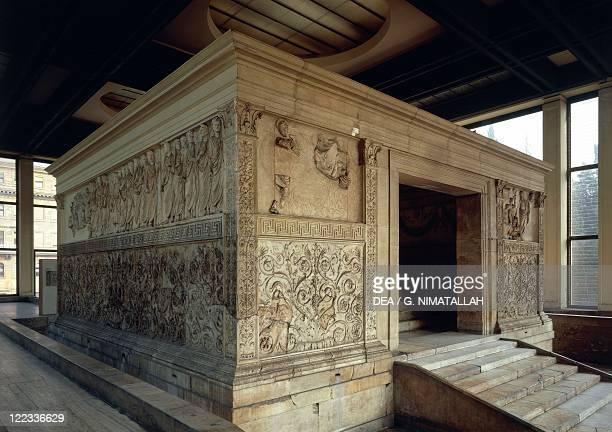 Roman civilization 1st century bC Rome Ara Pacis Augustae erected 139 bC to celebrate peace established by Augustus
