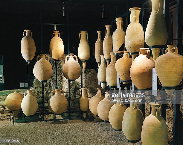 Roman civilization 1st century bC2nd century AD Amphorae for foodstuffs