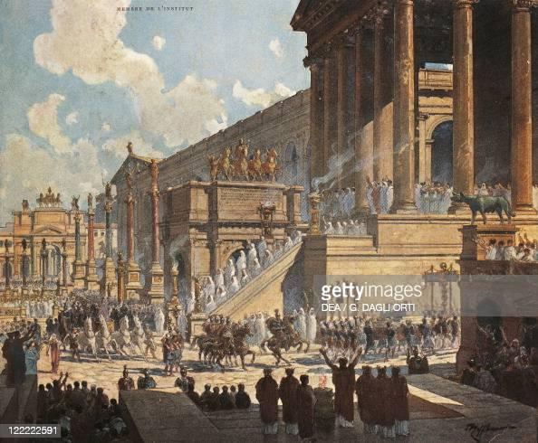 France paris the roman forum pictures getty images for Ideal paris