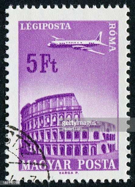 Roman Coliseum Stamp