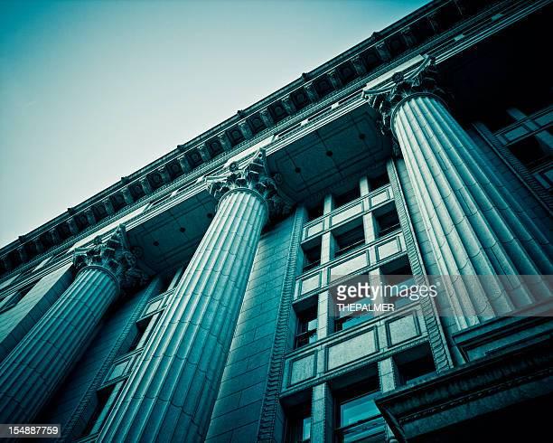 roman columns in japan building