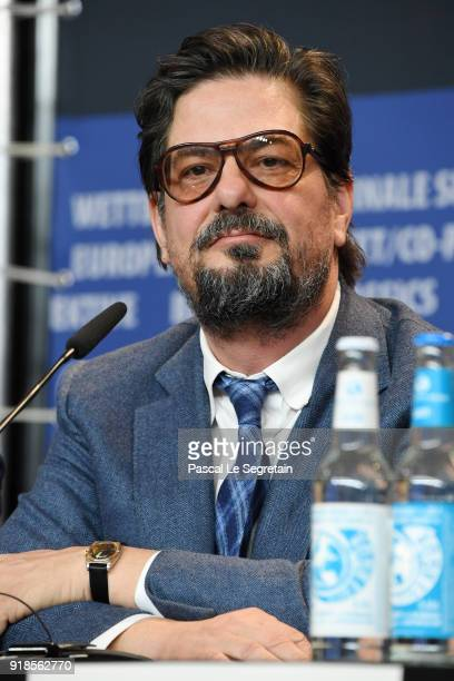 Roman Coppola attends the 'Isle of Dogs' press conference during the 68th Berlinale International Film Festival Berlin at Grand Hyatt Hotel on...