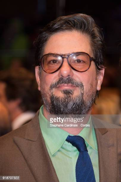 Roman Coppola attends the Opening Ceremony 'Isle of Dogs' premiere during the 68th Berlinale International Film Festival Berlin at Berlinale Palace...