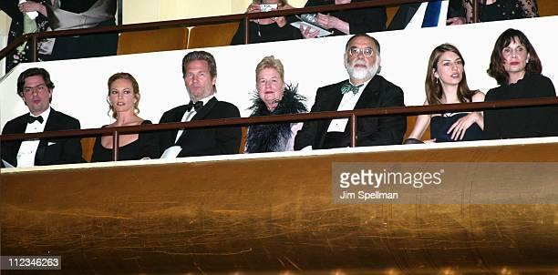 Roman Coppola, Diane Lane, Jeff Bridges, Eleanor Coppola, Francis Ford Coppola, Sofia Coppola & Talia Shire