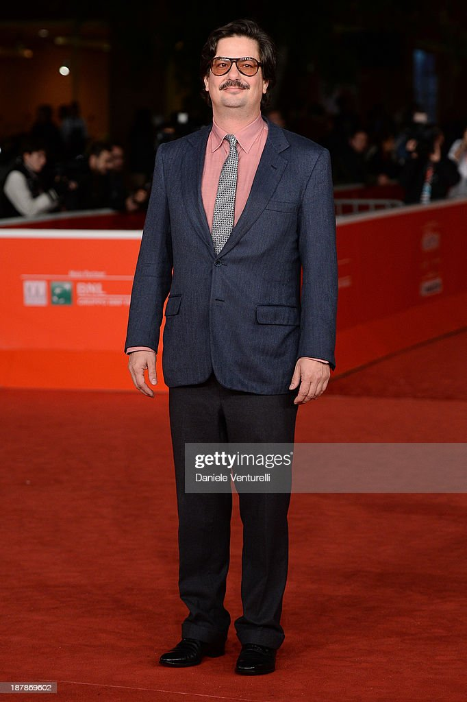 Wes Anderson And Roman Coppola On The Red Carpet - The 8th Rome Film Festival