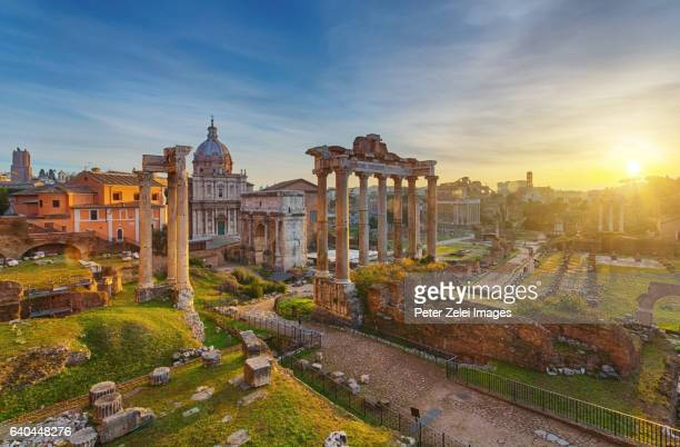 Roman Forum at sunrise