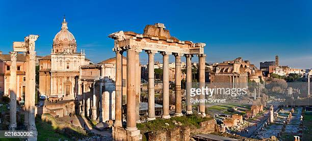 roman forum in rome - roman forum stock pictures, royalty-free photos & images