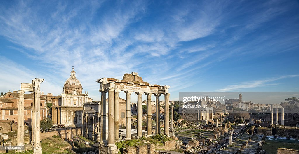 Roman Forum, Rome Italy : Stock Photo