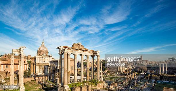 roman forum, rome italy - roma stock photos and pictures