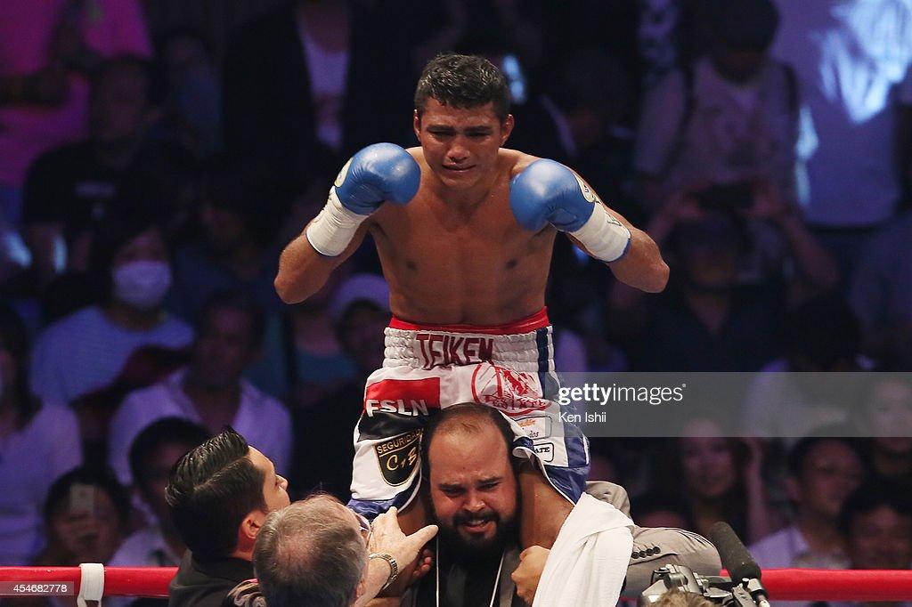 Akira Yaegashi v Roman Gonzalez - WBC Flyweight Title Bout : News Photo