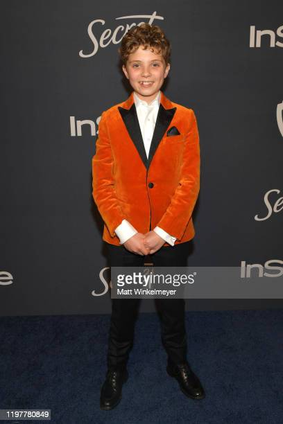 Roman Griffin Davis attends The 2020 InStyle And Warner Bros 77th Annual Golden Globe Awards PostParty at The Beverly Hilton Hotel on January 05 2020...