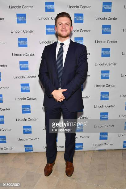 Roman Hauser attends the Winter Gala at Lincoln Center at Alice Tully Hall on February 13 2018 in New York City
