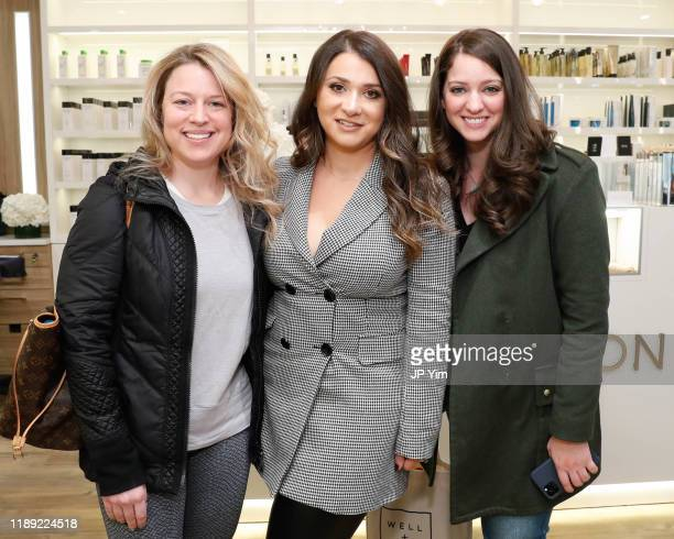 Roman K Salon owner Rachel Shimanova and guests attend the Roman K Salon Madison Avenue Opening on November 21 2019 in New York City