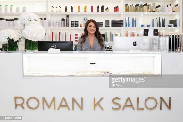Roman K Salon owner Rachel Shimanova attends the Roman K Salon Madison Avenue Opening on November 21 2019 in New York City