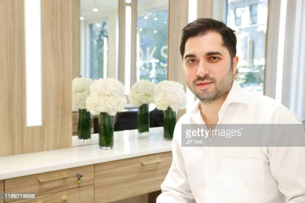 Roman K Salon owner Roman Kusayev attends the Roman K Salon Madison Avenue Opening on November 21 2019 in New York City