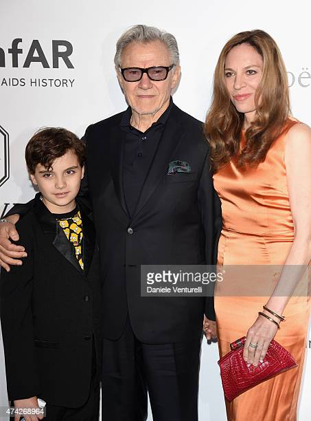 Roman Keitel Actor Harvey Keitel and actress Daphna Kastner attend amfAR's 22nd Cinema Against AIDS Gala Presented By Bold Films And Harry Winston at...