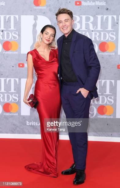Roman Kemp attends The BRIT Awards 2019 held at The O2 Arena on February 20 2019 in London England