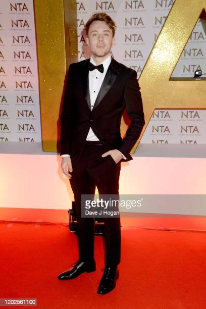 Roman Kemp attends the National Television Awards 2020 at The O2 Arena on January 28 2020 in London England