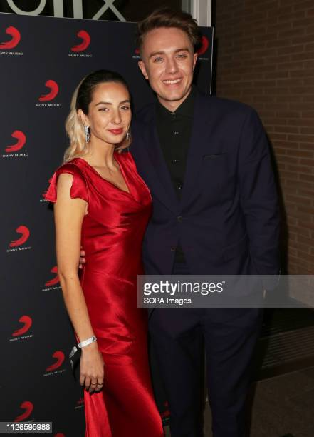 Roman Kemp seen at the Sony Music After Party for The Brit Awards 2019 at The Shard in London
