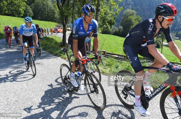 Roman Kreuziger of Czech Republic and NTT Pro Cycling Team / during the 107th Tour de France 2020, Stage 18 a 175km stage from Méribel to La Roche...