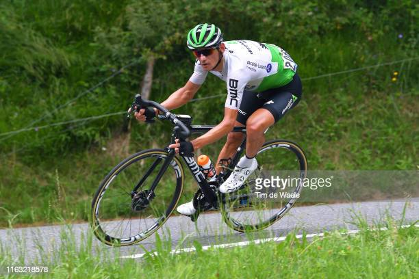 Roman Kreuziger of Czech Republic and Team Dimension Data / during the 106th Tour de France 2019, Stage 14 a 117km stage from Tarbes to Tourmalet...