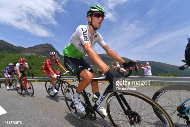 Roman Kreuziger of Czech Republic and Team Dimension Data / during the 106th Tour de France 2019, Stage 15 a 185 km stage from Limoux to Foix Prat...