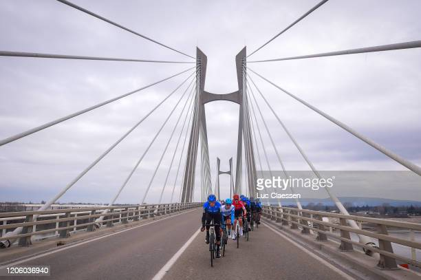 Roman Kreuziger of Czech Republic and Team NTT Pro Cycling / Peloton / Bridge / during the 5th Tour de La Provence 2020, Stage 1 a 149,5km stage from...