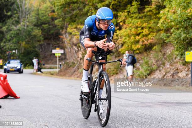 Roman Kreuziger of Czech Republic - NTT Pro Cycling Team during his Individual Time-Trial of Stage 20 on September 19, 2020 in Plancher Bas, France.
