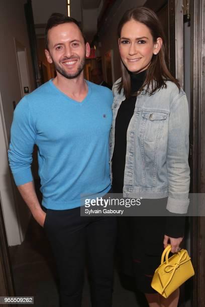 Roman Kuznetsov and Jessica Tarlov attend Ambassador Grenell Goodbye Bash on May 6 2018 in New York City