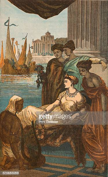 Roman Lady and Slaves c1910 Slavery in ancient Rome played an important role in Roman society and economy Slaves performed many domestic services and...