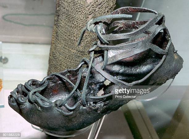 Roman leather sandal from York Sandals were introduced to Britain by the Romans mostly from legionnaires Currently at York Archaeological Society...