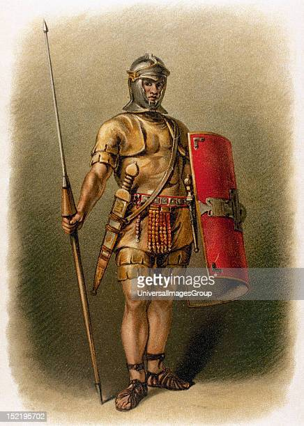 Roman legionarty Engraving